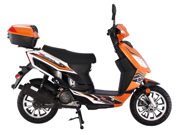 Thunder-50cc-Moped-ASSEMBLED